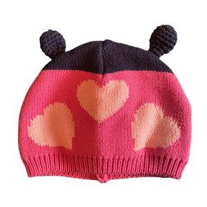 Made with Love by Place Pink Baby Hat 6 - 12 mths